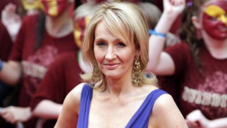 J.K. Rowling bij première van Harry Potter and the Half Blood Prince in juli 2009. ANP Beeld