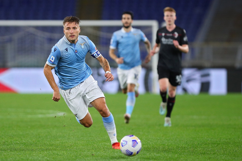 Lazio's topschutter Ciro Immobile. Beeld Photo News