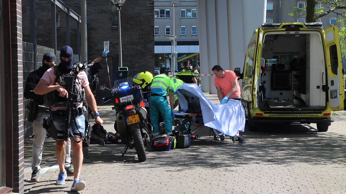 Steekpartij in Den Haag