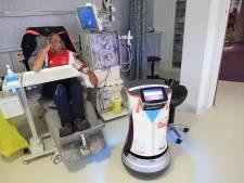 Bloedrobot Robin glijdt onvermoeibaar door het ziekenhuis