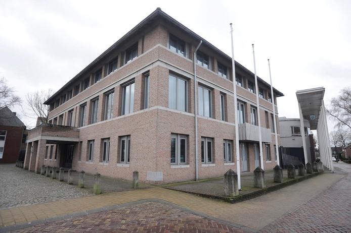 Het gemeentehuis van Landerd.