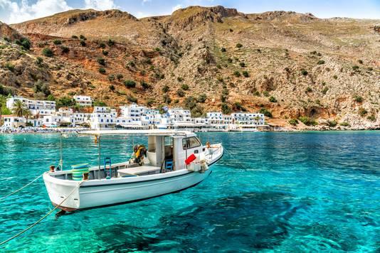 Deze zomer nog genieten van een pleziertochtje in Kreta? De Griekse regering ziet het scenario alvast helemaal zitten