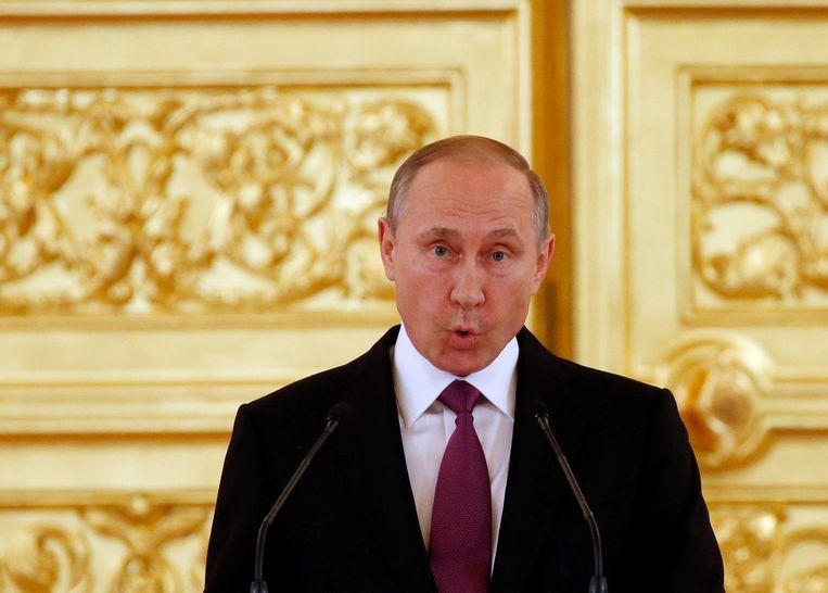 De Russische president Vladimir Poetin Beeld epa