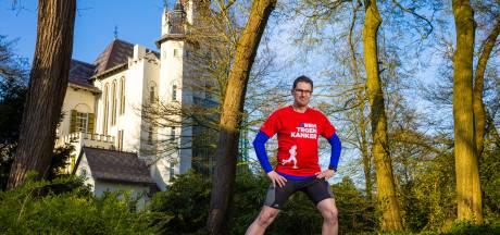 Marco Vugts loopt marathon als eerbetoon aan overleden broer; opbrengst bijna 9000 voor KWF