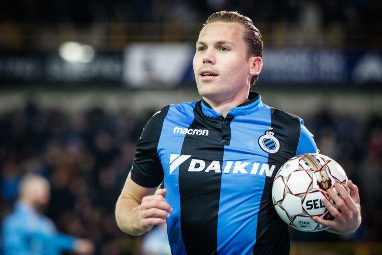 Ruud Vormer in actie tegen Charleroi. Beeld BELGA