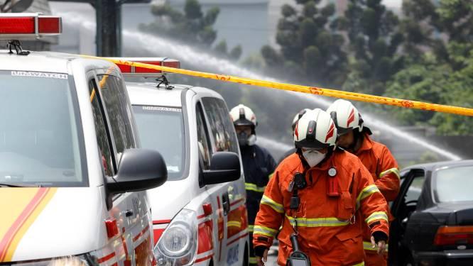 Vijf brandweermannen komen om bij fabrieksbrand in Taiwan tijdens zoektocht naar slachtoffers