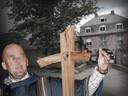Robert B. zat met zijn sekte in een klooster in het Duitse Goch.