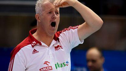 Heynen mist busje, maar start uitstekend met titelverdediger Polen