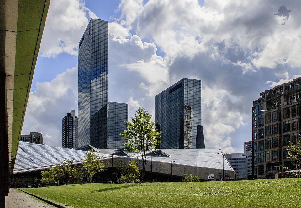 Nationale Nederlanden in Rotterdam.