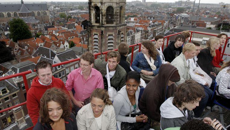 Nieuwe studenten in Leiden, Beeld anp