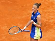Karolina Pliskova s'impose en finale de Rome face à Johanna Konta