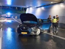 Eenzijdig ongeval in tunnel bij Rijssen: weg tijdelijk afgesloten