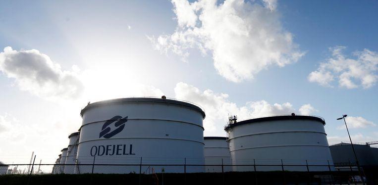 Tankopslagbedrijf Odfjell in Rotterdam lapte veiligheidsregels aan zijn laars en schikte voor 3 miljoen euro met justitie Beeld anp