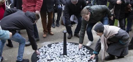 Onthulling Holocaustmonument 'Levenslicht' in Volkspark Rijssen