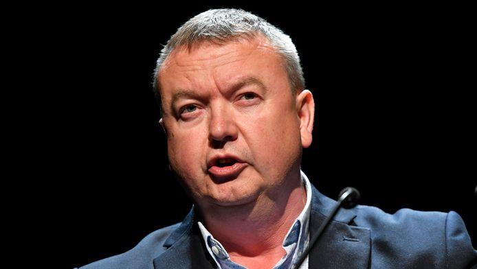Robert Vertenueil, secrétaire général de la FGTB.