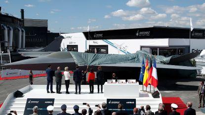 Airbus en Dassault onthullen model nieuw gevechtsvliegtuig