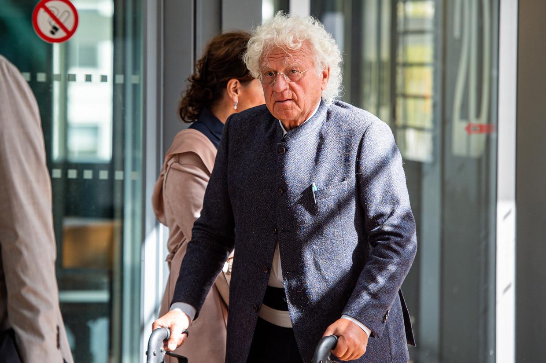 Professor Bo Coolsaet (79) herstelt van een bekkenbreuk. Beeld BELGA