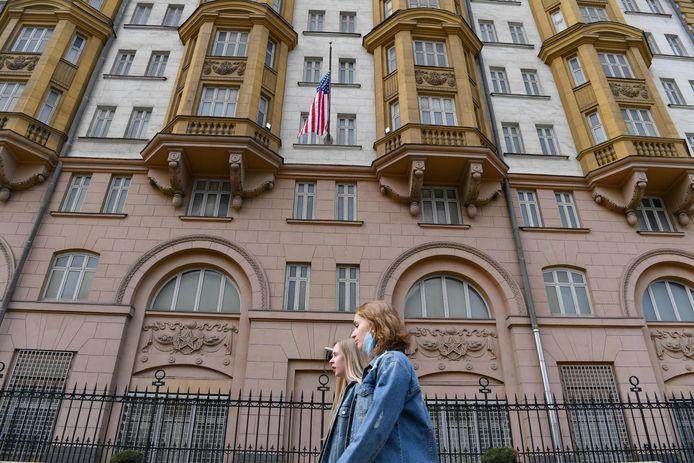L'ambassade américaine à Moscou.