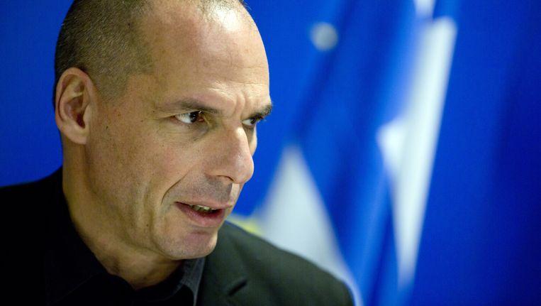 Grieks financiënminister Yanis Varoufakis. Beeld AP