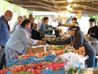 Moederdagactie op de zaterdagmarkt in Ieper