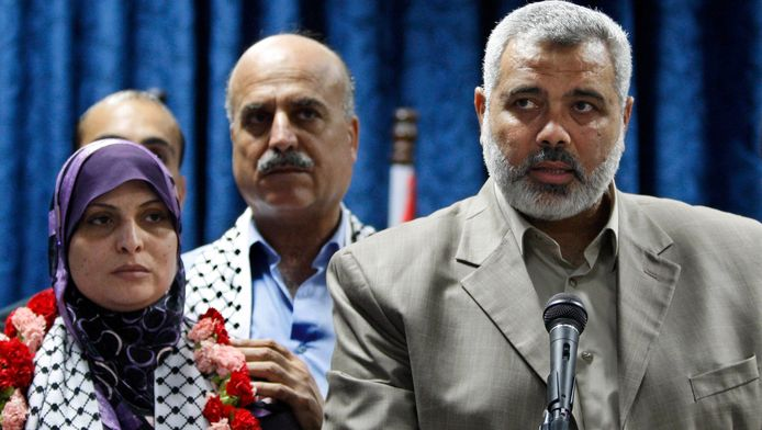 Hamas-premier Ismaïl Haniyeh. Foto uit 2009
