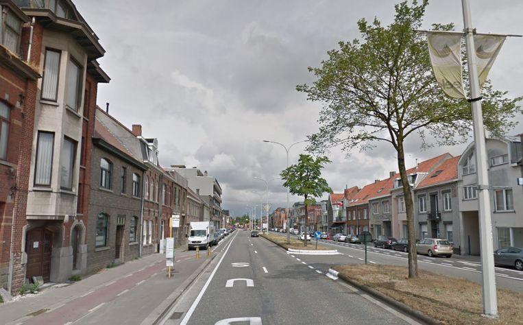 De Molenstraat in Eeklo.
