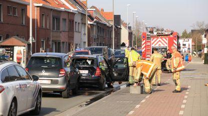 Twee gewonden bij botsing in Lepelhoekstraat