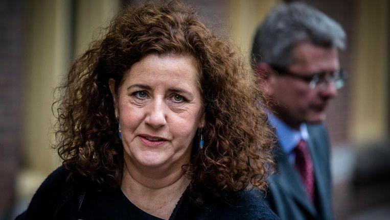 Cultuurminister Ingrid van Engelshoven vindt de rol van de overheid bij de popmuziek bescheiden. Beeld ANP