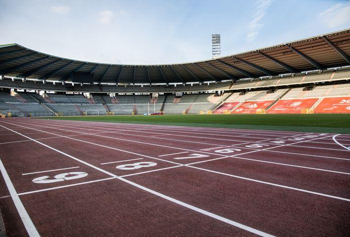 Het Koning Boudewijnstadion.