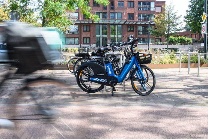 De E-bikes van Bondi komen naar Den Bosch toe