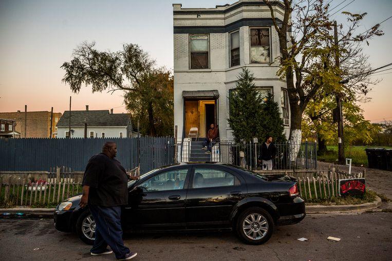► De economische neergang heeft het geweld in de armere buurten weer doen toenemen. Beeld Van Den Bergh Freek