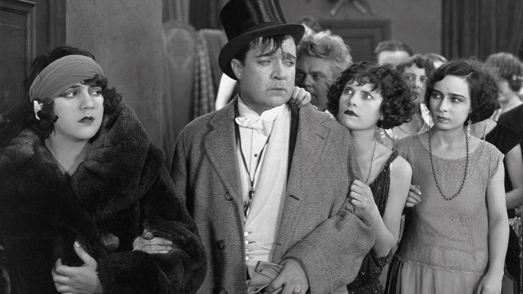 Uit 'A Woman of Paris' van Charlie Chaplin, 1923. Beeld rv
