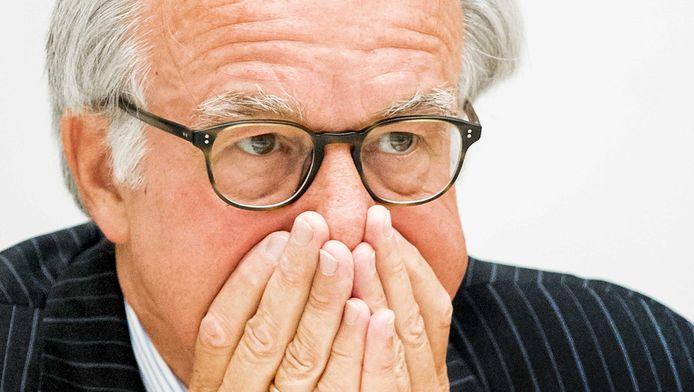 Van Aartsen tijdens het raadsdebat.