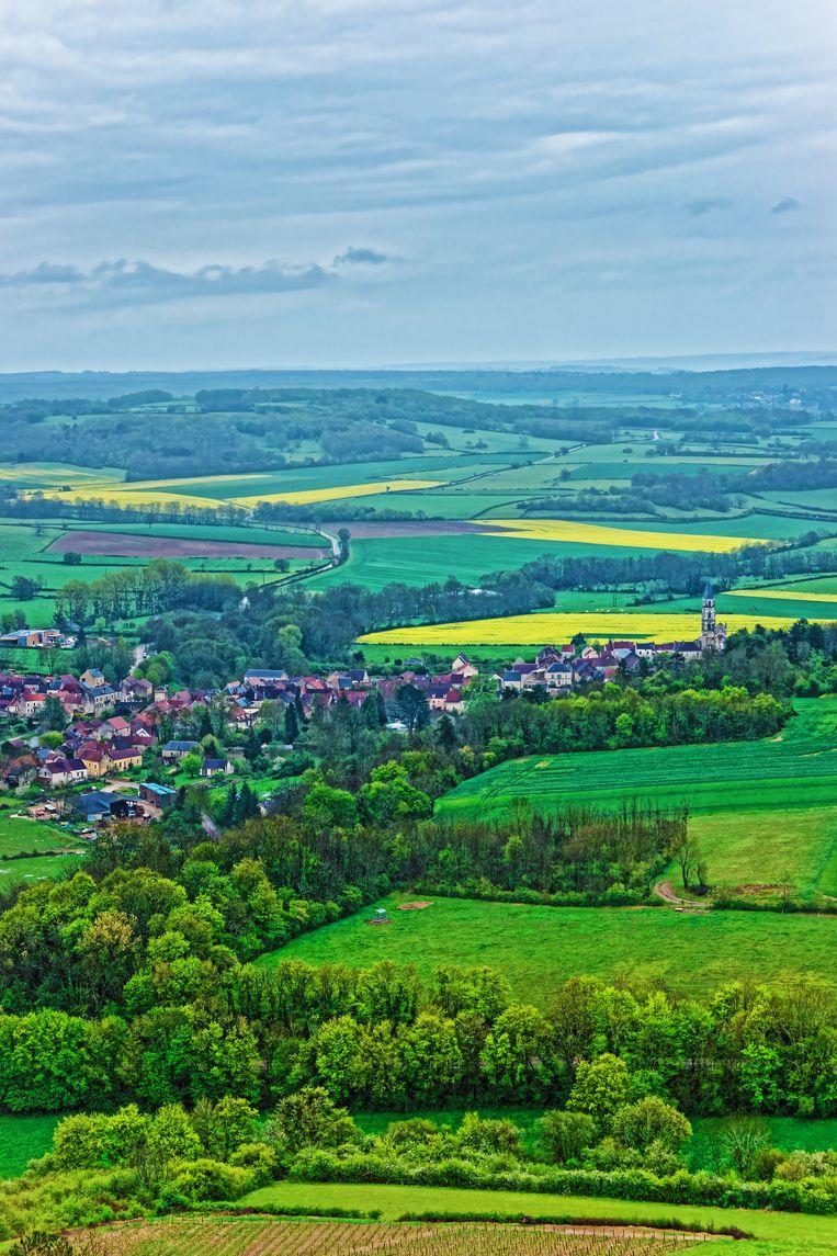 Zicht op Vezelay Beeld colourbox