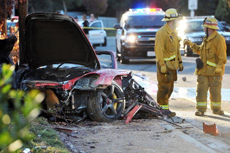 Paul Walker, hoofdrolspeler in de 'Fast and Furious'-filmreeks, overleed vorig jaar in een crash met een Porsche. Beeld PHOTO_NEWS