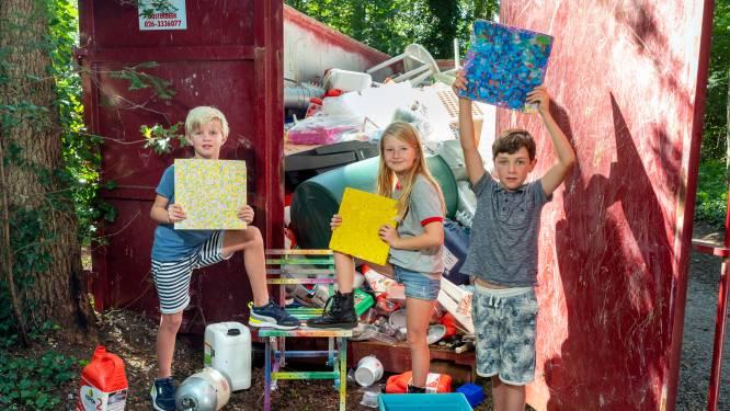 Valerie (8) trekt ten strijde tegen het plasticafval: 'Dieren kunnen erin stikken'