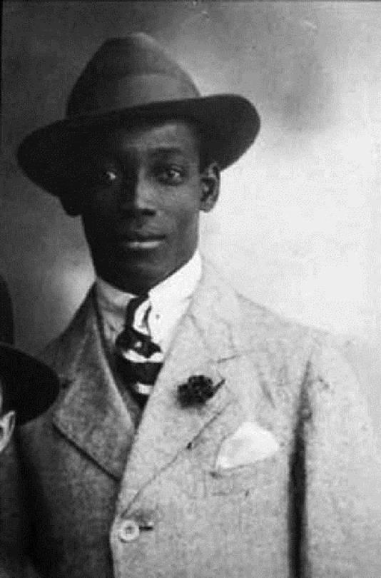 De Surinaamse schrijver en verzetsheld Anton de Kom.