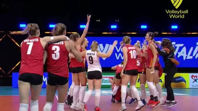 Yellow Tigers stunten tegen olympisch kampioen China in Nations League volleybal