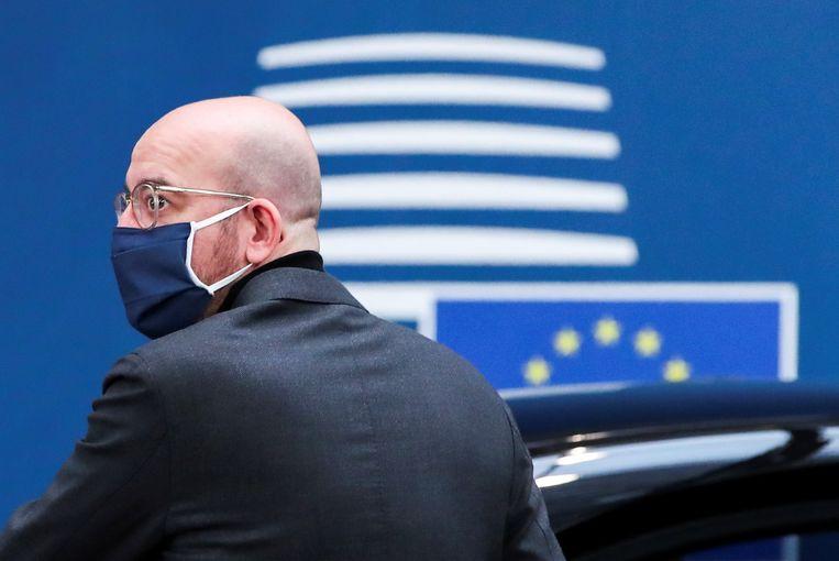 Europees Raadsvoorzitter Charles Michel. Beeld REUTERS