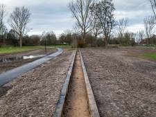 Meer water náást dan in nieuwe Apeldoornse beek
