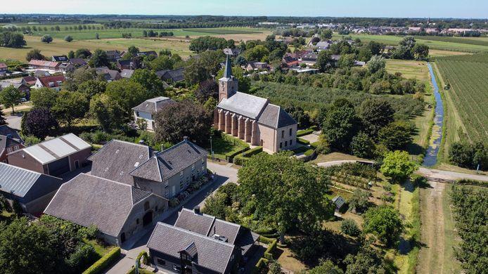 Erichem is een van de dorpen waar gebouwd gaat worden, maar waar is nog niet bekend.