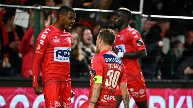 Karim Belhocine pakt bij zijn terugkeer naar het Guldensporenstadion een driepunter tegen KV Oostende
