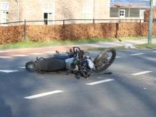 Motorrijder gewond door aanrijding in Schijndel