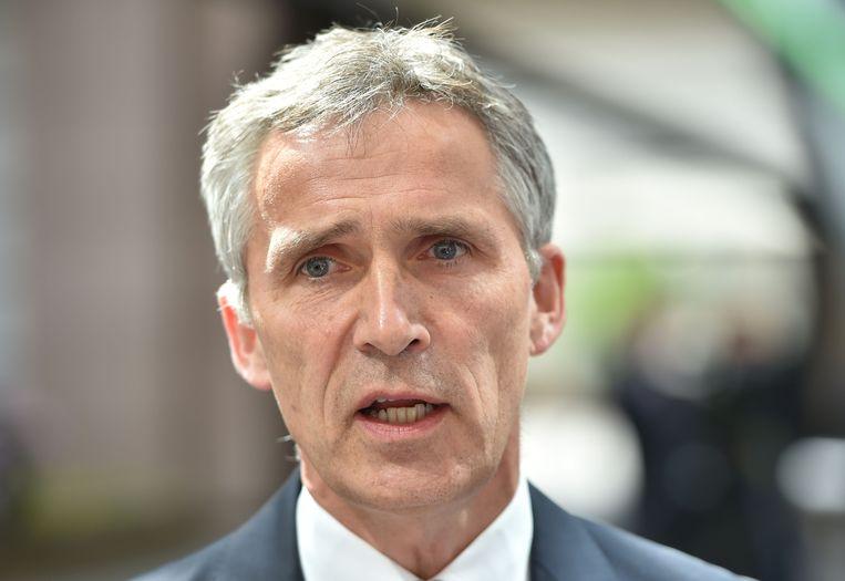 Jens Stoltenberg Beeld AFP