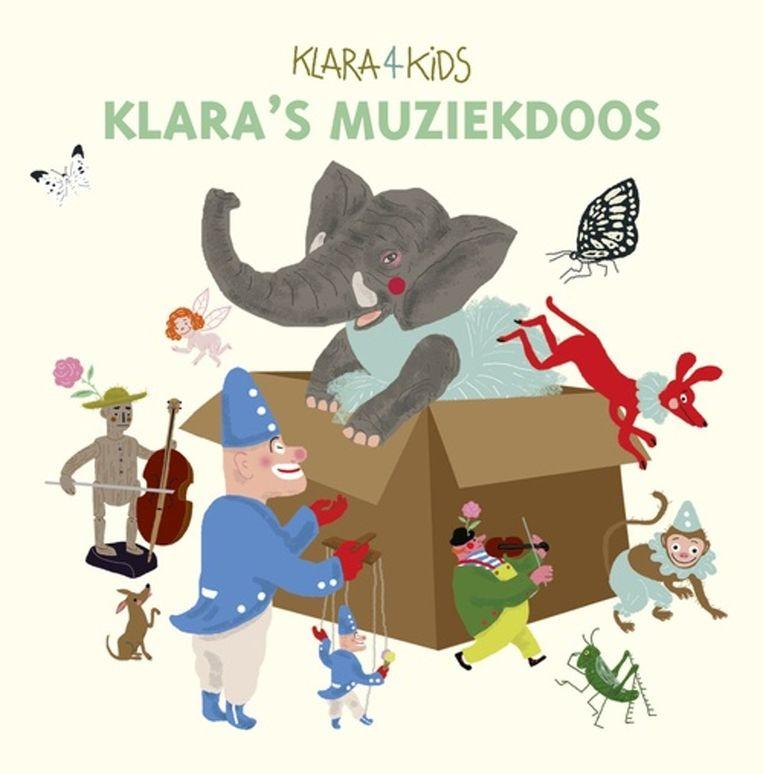 In 2016 gaf Klara een cd-box uit om kinderen enthousiast te maken voor klassieke muziek. Beeld RV