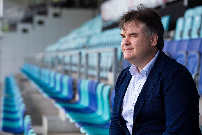 De nieuwe Amerikaanse aandeelhouder Paul Conway was dinsdag in stadion De Vliert.