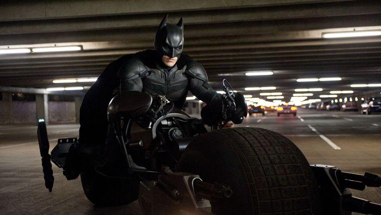 Batman in de film 'The Dark Knight Rises' Beeld AP