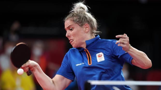 Kelly van Zon pakt voor de derde keer op rij paralympisch goud: 'Ik heb het geflikt'
