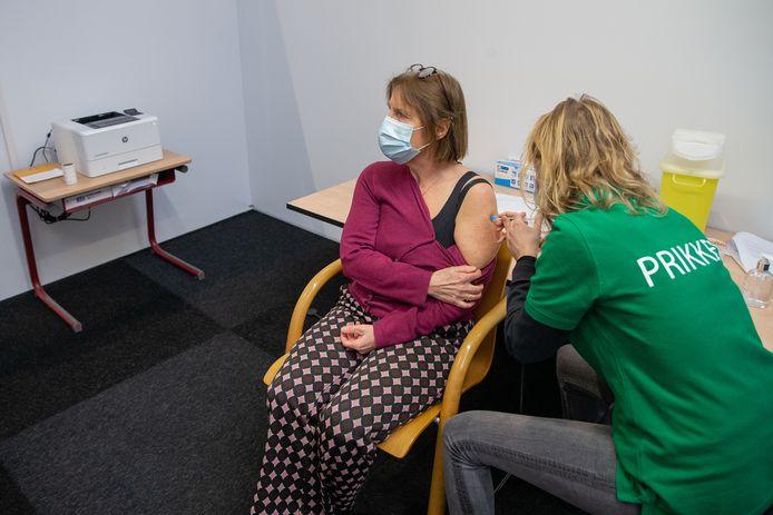 Vaccineren tegen het coronavirus in Wijchen.