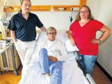Opa Hans verlamd door vuistslag na verkeersruzie